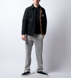 Reigning Champ Heather Grey RC-5018 Midweight Twill French Terry Sweatpants Model Picture