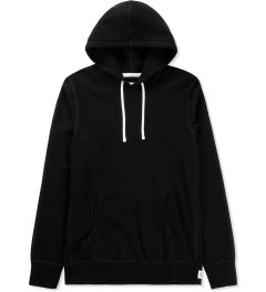 Reigning Champ Black RC-3206 Midweight Twill French Terry Pullover Hoodie Picture