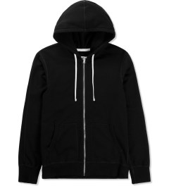 Reigning Champ Black RC-3205 Midweight Twill French Terry Zip Hoodie Picture