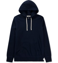 Reigning Champ Navy RC-3206 Midweight Twill French Terry Pullover Hoodie Picture