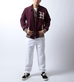 U.S. Alteration White Sweatpant Model Picture