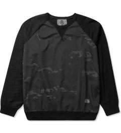 U.S. Alteration Black Multi Camo Sweater Picutre