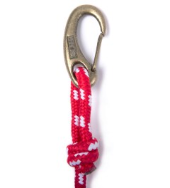 10.Deep Red Climbing Rope  Model Picture