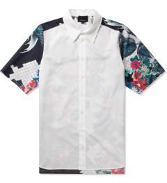 3.1 Phillip Lim Multi W/ Dolman Back Yoke S/S Raglan Button Up Shirt  Picture
