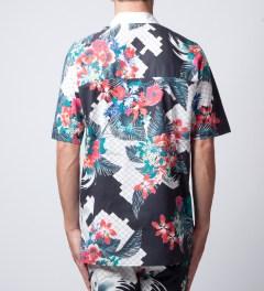 3.1 Phillip Lim Multi W/ Dolman Back Yoke S/S Raglan Button Up Shirt  Model Picture