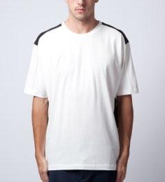 3.1 Phillip Lim Antique White S/S Dolman Sleeve W/ Combo T-Shirt Model Picture