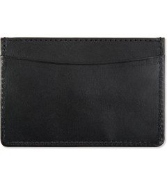 A.P.C. Black Card Case Model Picture