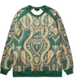 Black Scale Olive Esherick Sweater Picutre