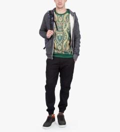 Black Scale Olive Esherick Sweater Model Picutre