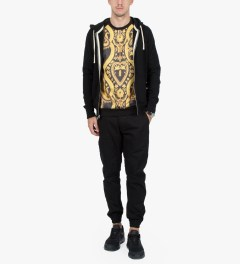 Black Scale Black Esherick Sweater Model Picutre