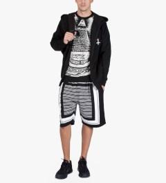 Black Scale Black Annuit 5 Sweater  Model Picutre