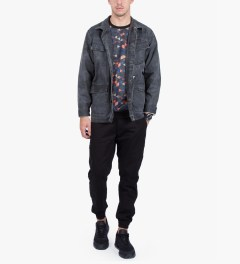 Black Scale Black Turnbull Sweater  Model Picutre