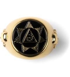Black Scale Gold Seventh Star Ring Picutre