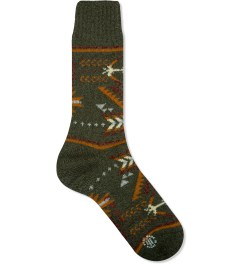 CHUP Forest Green Qo'a Sock Picutre