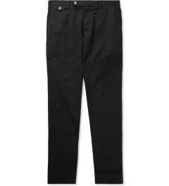 Carven Navy Chino Slim Cotton Twill Trousers  Picture