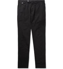 Carven Navy Chino Slim Cotton Twill Trousers  Picutre