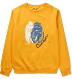 Carven Orange VIF Cricket Molleton Sweater Picutre