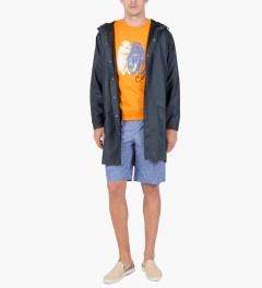 Carven Orange VIF Cricket Molleton Sweater Model Picutre