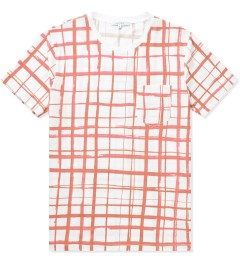 Carven Poppy Jersey Print Marker T-Shirt Picture