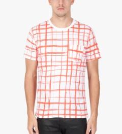 Carven Poppy Jersey Print Marker T-Shirt Model Picture