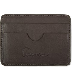 Carven Choco Full Grain Leather Pocket  Picture