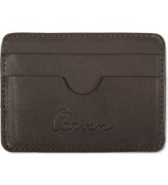 Carven Choco Full Grain Leather Pocket  Picutre