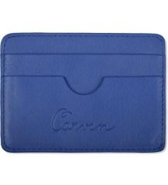 Carven Royal Blue Full Grain Leather Pocket  Picture