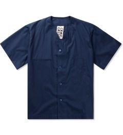 Craig Green Navy Cotton Baseball Shirt   Picutre