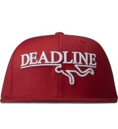 Deadline Red OG Logo Snapback   Picture