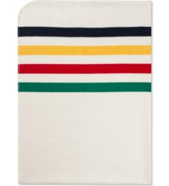 Hudson's Bay Company Multistripe Fleece Throw Blanket Picutre