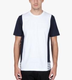 P.A.M. White Folie T-Shirt   Model Picture