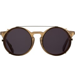 SUNDAY SOMEWHERE Gold Mother of Pearl Matahari Sunglasses Picutre