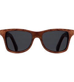 Shwood Grey Polarized Redwood Burl/Walnut Canby Sunglasses   Picutre
