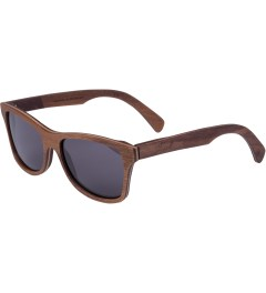 Shwood Grey Walnut Canby Sunglasses Model Picutre