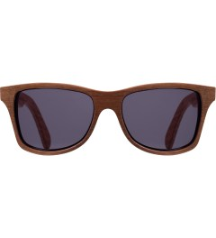 Shwood Grey Walnut/Oak Temple Canby Sunglasses  Picutre