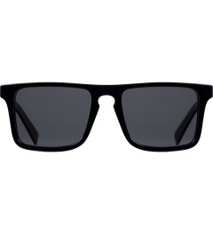 Shwood Grey Polarized Black/Oak Govy2 Sunglasses    Picutre