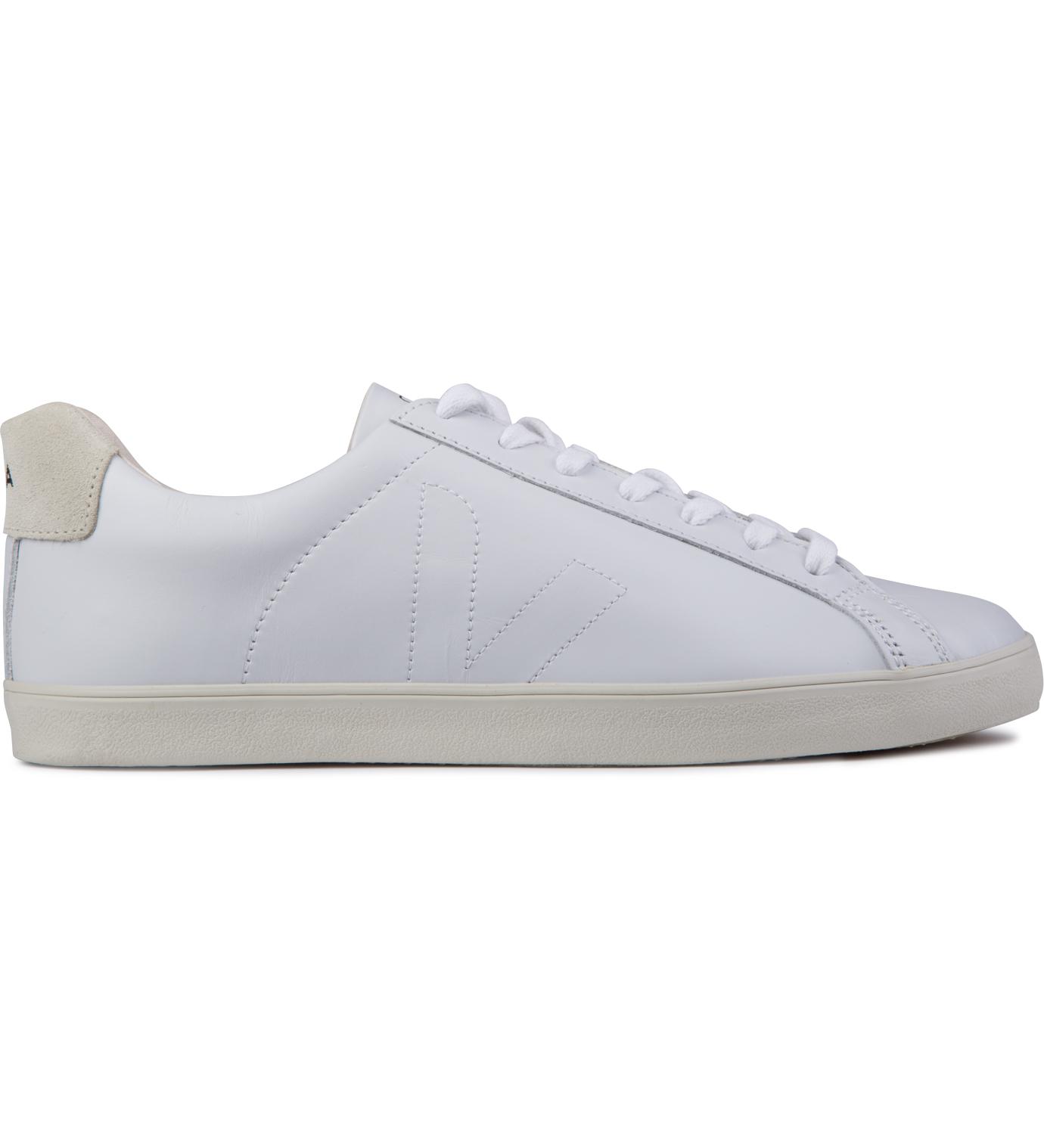VEJA Extra White Esplar Leather Shoes