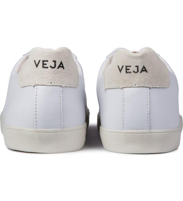 Extra White Esplar Leather Shoes