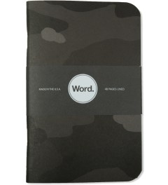 Word. Stealth Camo 3 Pack Notebook Picutre