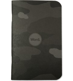 Word. Stealth Camo 3 Pack Notebook Model Picutre