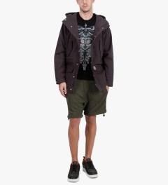 11 By Boris Bidjan Saberi Green Night P6 1201 Pants Model Picutre