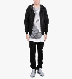 11 By Boris Bidjan Saberi Black P2 F-1408 P3 Pants  Model Picutre