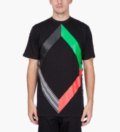 Black Scale Black Six Degreed of Seperation T-Shirt  Model Picutre