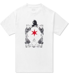 Black Scale White Six Pointed Knight T-Shirt Picutre