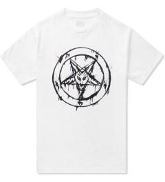 Black Scale White 666 Splatter T-Shirt  Picutre