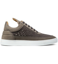 Filling Pieces All Grey Lowtop Gradient Perforated Shoe Picutre