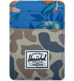 Herschel Supply Co. Duck camo/Paradise/Navy Raven Cardholders Picutre