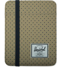 Herschel Supply Co. Khaki Polka Dot/Navy Cypress Sleeve for iPad Picture