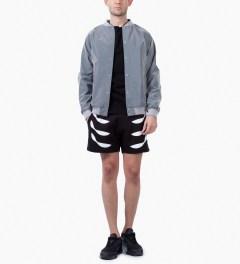Uppercut Black Air Crewneck Sweater Model Picutre