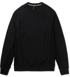 Uppercut Black Air Crewneck Sweater Picutre
